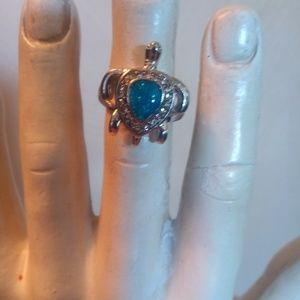 Jewelry - Fire Opal Turtle Ring